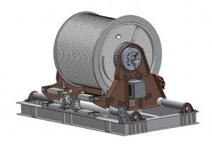 Navy Marine Winch System