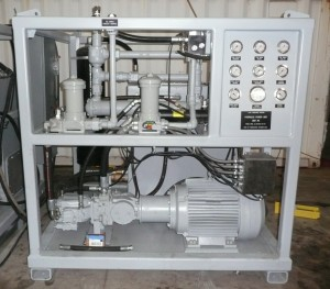 75 Hp Shipboard Hydraulic Power Unit