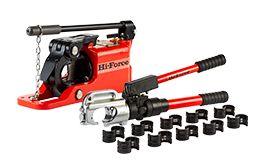 Crimpers & Cutters. Hydraulic crimping tools, cable cutters, chain cutters and wire rope cutters